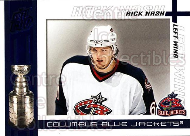 2003-04 Pacific Quest for the Cup Blue #30 Rick Nash<br/>1 In Stock - $3.00 each - <a href=https://centericecollectibles.foxycart.com/cart?name=2003-04%20Pacific%20Quest%20for%20the%20Cup%20Blue%20%2330%20Rick%20Nash...&quantity_max=1&price=$3.00&code=448085 class=foxycart> Buy it now! </a>