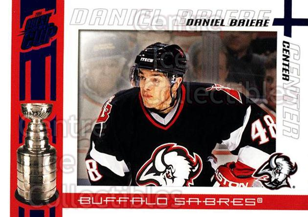 2003-04 Pacific Quest for the Cup Blue #11 Daniel Briere<br/>1 In Stock - $3.00 each - <a href=https://centericecollectibles.foxycart.com/cart?name=2003-04%20Pacific%20Quest%20for%20the%20Cup%20Blue%20%2311%20Daniel%20Briere...&quantity_max=1&price=$3.00&code=448092 class=foxycart> Buy it now! </a>