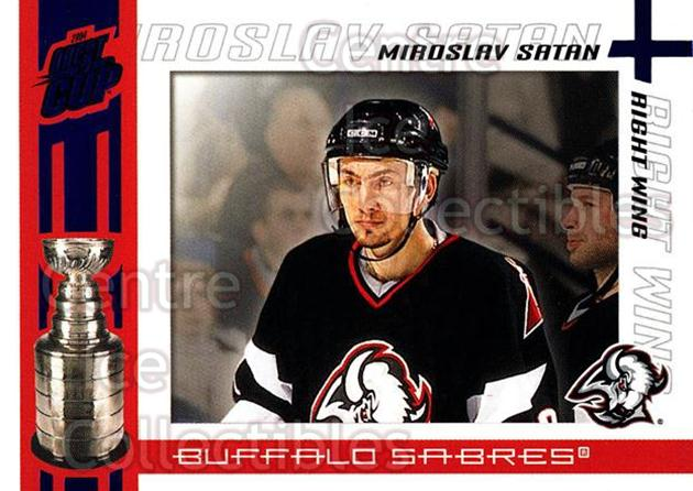 2003-04 Pacific Quest for the Cup Blue #13 Miroslav Satan<br/>2 In Stock - $3.00 each - <a href=https://centericecollectibles.foxycart.com/cart?name=2003-04%20Pacific%20Quest%20for%20the%20Cup%20Blue%20%2313%20Miroslav%20Satan...&quantity_max=2&price=$3.00&code=448094 class=foxycart> Buy it now! </a>
