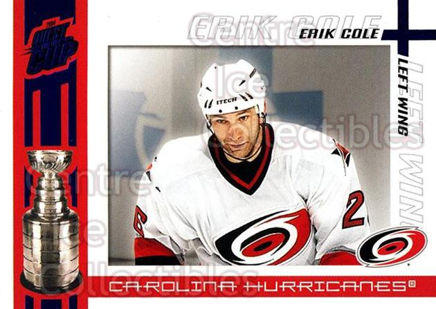 2003-04 Pacific Quest for the Cup Blue #17 Erik Cole<br/>1 In Stock - $3.00 each - <a href=https://centericecollectibles.foxycart.com/cart?name=2003-04%20Pacific%20Quest%20for%20the%20Cup%20Blue%20%2317%20Erik%20Cole...&quantity_max=1&price=$3.00&code=448098 class=foxycart> Buy it now! </a>