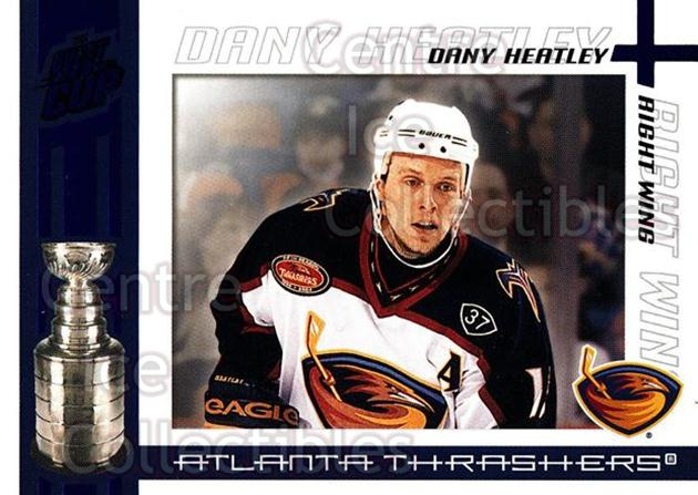 2003-04 Pacific Quest for the Cup Blue #3 Dany Heatley<br/>2 In Stock - $3.00 each - <a href=https://centericecollectibles.foxycart.com/cart?name=2003-04%20Pacific%20Quest%20for%20the%20Cup%20Blue%20%233%20Dany%20Heatley...&quantity_max=2&price=$3.00&code=448109 class=foxycart> Buy it now! </a>