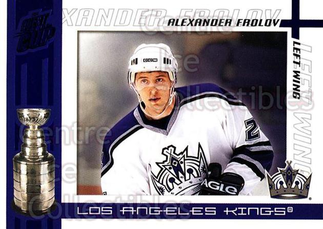 2003-04 Pacific Quest for the Cup Blue #50 Alexander Frolov<br/>1 In Stock - $3.00 each - <a href=https://centericecollectibles.foxycart.com/cart?name=2003-04%20Pacific%20Quest%20for%20the%20Cup%20Blue%20%2350%20Alexander%20Frolo...&quantity_max=1&price=$3.00&code=448128 class=foxycart> Buy it now! </a>