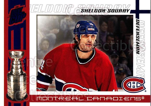 2003-04 Pacific Quest for the Cup Blue #58 Sheldon Souray<br/>1 In Stock - $3.00 each - <a href=https://centericecollectibles.foxycart.com/cart?name=2003-04%20Pacific%20Quest%20for%20the%20Cup%20Blue%20%2358%20Sheldon%20Souray...&quantity_max=1&price=$3.00&code=448134 class=foxycart> Buy it now! </a>
