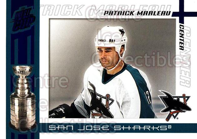 2003-04 Pacific Quest for the Cup Blue #89 Patrick Marleau<br/>2 In Stock - $3.00 each - <a href=https://centericecollectibles.foxycart.com/cart?name=2003-04%20Pacific%20Quest%20for%20the%20Cup%20Blue%20%2389%20Patrick%20Marleau...&quantity_max=2&price=$3.00&code=448159 class=foxycart> Buy it now! </a>