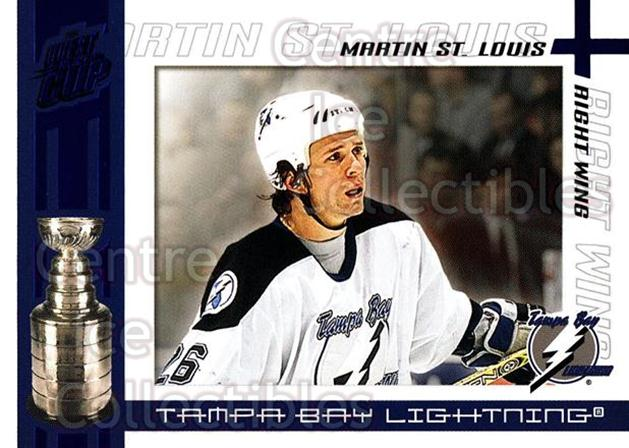 2003-04 Pacific Quest for the Cup Blue #93 Martin St. Louis<br/>1 In Stock - $3.00 each - <a href=https://centericecollectibles.foxycart.com/cart?name=2003-04%20Pacific%20Quest%20for%20the%20Cup%20Blue%20%2393%20Martin%20St.%20Loui...&quantity_max=1&price=$3.00&code=448163 class=foxycart> Buy it now! </a>