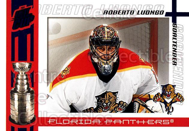 2003-04 Pacific Quest for the Cup Blue #48 Roberto Luongo<br/>1 In Stock - $3.00 each - <a href=https://centericecollectibles.foxycart.com/cart?name=2003-04%20Pacific%20Quest%20for%20the%20Cup%20Blue%20%2348%20Roberto%20Luongo...&quantity_max=1&price=$3.00&code=448171 class=foxycart> Buy it now! </a>