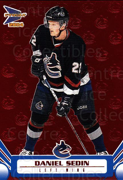 <a href=index.aspx?SetName=2003-04%20Prism%20Red>2003-04 Prism Red</a> #96 <a href=index.aspx?PlayerName=Daniel%20Sedin> Daniel Sedin</a><br/>2 in stock - $3.00 each - <a href=https://centericecollectibles.foxycart.com/cart?name=2003-04%20Prism%20Red%20%2396%20Daniel%20Sedin...&price=$3.00&code=448377 class=foxycart> Buy it now! </a>