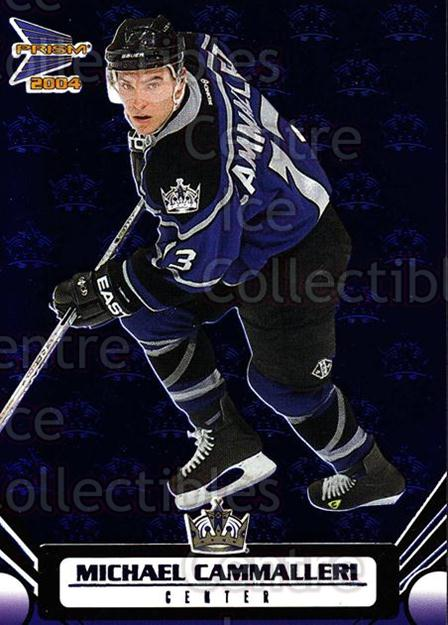 2003-04 Prism Blue #47 Mike Cammalleri<br/>1 In Stock - $3.00 each - <a href=https://centericecollectibles.foxycart.com/cart?name=2003-04%20Prism%20Blue%20%2347%20Mike%20Cammalleri...&quantity_max=1&price=$3.00&code=448635 class=foxycart> Buy it now! </a>