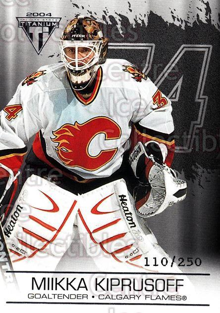 2003-04 Titanium Retail Jersey Number Parallels #17 Miikka Kiprusoff<br/>5 In Stock - $3.00 each - <a href=https://centericecollectibles.foxycart.com/cart?name=2003-04%20Titanium%20Retail%20Jersey%20Number%20Parallels%20%2317%20Miikka%20Kiprusof...&quantity_max=5&price=$3.00&code=449146 class=foxycart> Buy it now! </a>