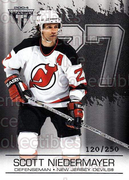 2003-04 Titanium Retail Jersey Number Parallels #62 Scott Niedermayer<br/>6 In Stock - $3.00 each - <a href=https://centericecollectibles.foxycart.com/cart?name=2003-04%20Titanium%20Retail%20Jersey%20Number%20Parallels%20%2362%20Scott%20Niedermay...&quantity_max=6&price=$3.00&code=449191 class=foxycart> Buy it now! </a>