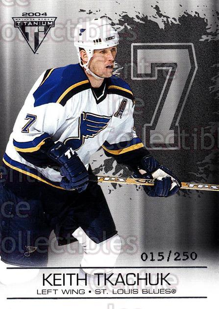 2003-04 Titanium Retail Jersey Number Parallels #85 Keith Tkachuk<br/>7 In Stock - $3.00 each - <a href=https://centericecollectibles.foxycart.com/cart?name=2003-04%20Titanium%20Retail%20Jersey%20Number%20Parallels%20%2385%20Keith%20Tkachuk...&quantity_max=7&price=$3.00&code=449214 class=foxycart> Buy it now! </a>