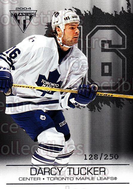 2003-04 Titanium Retail Jersey Number Parallels #94 Darcy Tucker<br/>5 In Stock - $3.00 each - <a href=https://centericecollectibles.foxycart.com/cart?name=2003-04%20Titanium%20Retail%20Jersey%20Number%20Parallels%20%2394%20Darcy%20Tucker...&quantity_max=5&price=$3.00&code=449223 class=foxycart> Buy it now! </a>