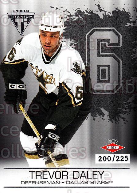 2003-04 Titanium Retail Jersey Number Parallels #115 Trevor Daley<br/>7 In Stock - $5.00 each - <a href=https://centericecollectibles.foxycart.com/cart?name=2003-04%20Titanium%20Retail%20Jersey%20Number%20Parallels%20%23115%20Trevor%20Daley...&quantity_max=7&price=$5.00&code=449244 class=foxycart> Buy it now! </a>