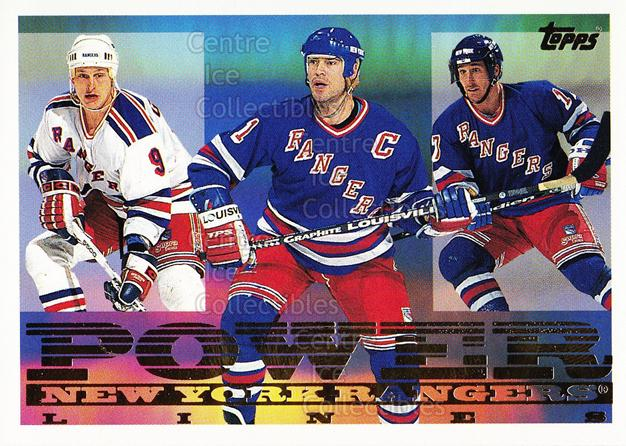 1995-96 Topps Power Lines #3 Mark Messier, Pat Verbeek, Adam Graves<br/>6 In Stock - $2.00 each - <a href=https://centericecollectibles.foxycart.com/cart?name=1995-96%20Topps%20Power%20Lines%20%233%20Mark%20Messier,%20P...&quantity_max=6&price=$2.00&code=44930 class=foxycart> Buy it now! </a>