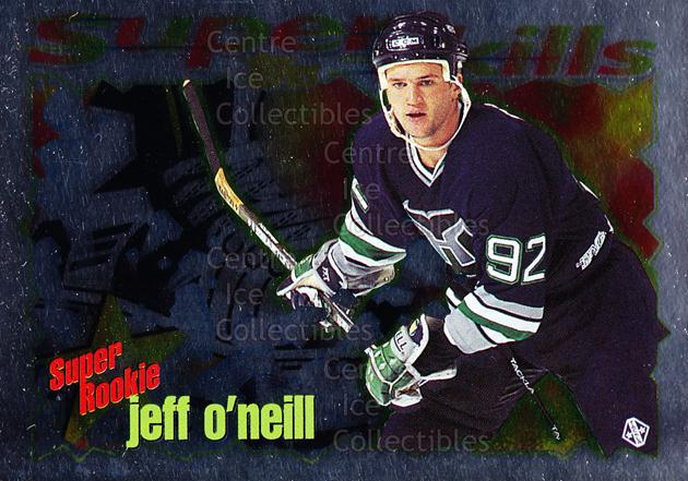 1995-96 Topps Super Skills Super Rookies #3 Jeff O'Neill<br/>6 In Stock - $2.00 each - <a href=https://centericecollectibles.foxycart.com/cart?name=1995-96%20Topps%20Super%20Skills%20Super%20Rookies%20%233%20Jeff%20O'Neill...&quantity_max=6&price=$2.00&code=44994 class=foxycart> Buy it now! </a>