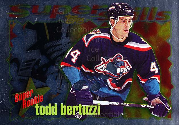 1995-96 Topps Super Skills Super Rookies #7 Todd Bertuzzi<br/>7 In Stock - $2.00 each - <a href=https://centericecollectibles.foxycart.com/cart?name=1995-96%20Topps%20Super%20Skills%20Super%20Rookies%20%237%20Todd%20Bertuzzi...&quantity_max=7&price=$2.00&code=44998 class=foxycart> Buy it now! </a>