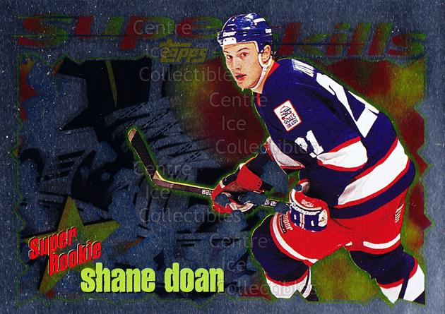 1995-96 Topps Super Skills Super Rookies #8 Shane Doan<br/>7 In Stock - $2.00 each - <a href=https://centericecollectibles.foxycart.com/cart?name=1995-96%20Topps%20Super%20Skills%20Super%20Rookies%20%238%20Shane%20Doan...&quantity_max=7&price=$2.00&code=44999 class=foxycart> Buy it now! </a>