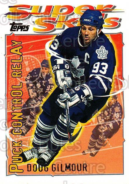 1995-96 Topps Super Skills #14 Doug Gilmour<br/>9 In Stock - $1.00 each - <a href=https://centericecollectibles.foxycart.com/cart?name=1995-96%20Topps%20Super%20Skills%20%2314%20Doug%20Gilmour...&quantity_max=9&price=$1.00&code=45004 class=foxycart> Buy it now! </a>