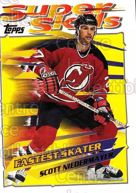 1995-96 Topps Super Skills #27 Scott Niedermayer<br/>10 In Stock - $1.00 each - <a href=https://centericecollectibles.foxycart.com/cart?name=1995-96%20Topps%20Super%20Skills%20%2327%20Scott%20Niedermay...&quantity_max=10&price=$1.00&code=45013 class=foxycart> Buy it now! </a>