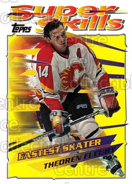 1995-96 Topps Super Skills #35 Theo Fleury<br/>10 In Stock - $1.00 each - <a href=https://centericecollectibles.foxycart.com/cart?name=1995-96%20Topps%20Super%20Skills%20%2335%20Theo%20Fleury...&quantity_max=10&price=$1.00&code=45019 class=foxycart> Buy it now! </a>