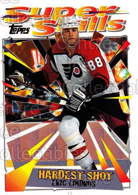 1995-96 Topps Super Skills #40 Eric Lindros<br/>10 In Stock - $1.00 each - <a href=https://centericecollectibles.foxycart.com/cart?name=1995-96%20Topps%20Super%20Skills%20%2340%20Eric%20Lindros...&quantity_max=10&price=$1.00&code=45025 class=foxycart> Buy it now! </a>