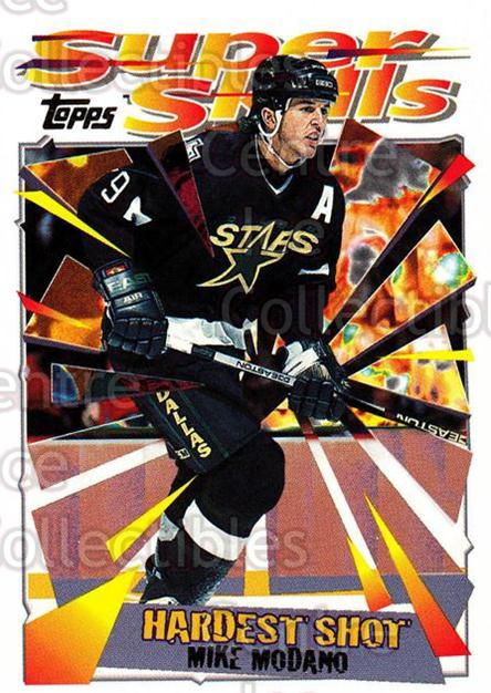 1995-96 Topps Super Skills #46 Mike Modano<br/>10 In Stock - $1.00 each - <a href=https://centericecollectibles.foxycart.com/cart?name=1995-96%20Topps%20Super%20Skills%20%2346%20Mike%20Modano...&quantity_max=10&price=$1.00&code=45031 class=foxycart> Buy it now! </a>