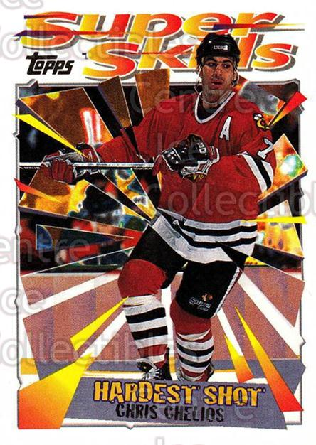 1995-96 Topps Super Skills #50 Chris Chelios<br/>8 In Stock - $1.00 each - <a href=https://centericecollectibles.foxycart.com/cart?name=1995-96%20Topps%20Super%20Skills%20%2350%20Chris%20Chelios...&quantity_max=8&price=$1.00&code=45035 class=foxycart> Buy it now! </a>