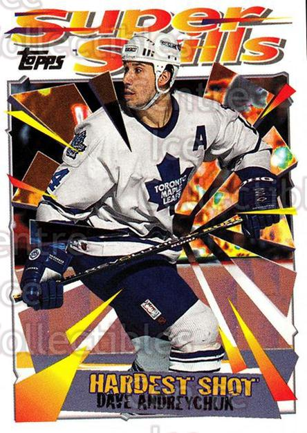 1995-96 Topps Super Skills #52 Dave Andreychuk<br/>9 In Stock - $1.00 each - <a href=https://centericecollectibles.foxycart.com/cart?name=1995-96%20Topps%20Super%20Skills%20%2352%20Dave%20Andreychuk...&quantity_max=9&price=$1.00&code=45037 class=foxycart> Buy it now! </a>