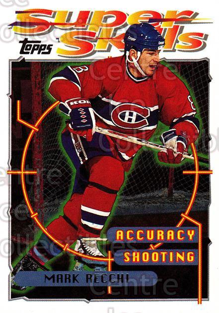 1995-96 Topps Super Skills #58 Mark Recchi<br/>10 In Stock - $1.00 each - <a href=https://centericecollectibles.foxycart.com/cart?name=1995-96%20Topps%20Super%20Skills%20%2358%20Mark%20Recchi...&quantity_max=10&price=$1.00&code=45043 class=foxycart> Buy it now! </a>