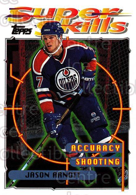 1995-96 Topps Super Skills #67 Jason Arnott<br/>10 In Stock - $1.00 each - <a href=https://centericecollectibles.foxycart.com/cart?name=1995-96%20Topps%20Super%20Skills%20%2367%20Jason%20Arnott...&quantity_max=10&price=$1.00&code=45053 class=foxycart> Buy it now! </a>