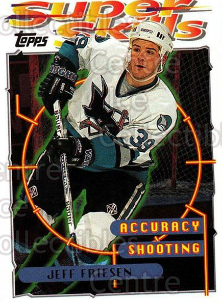 1995-96 Topps Super Skills #69 Jeff Friesen<br/>10 In Stock - $1.00 each - <a href=https://centericecollectibles.foxycart.com/cart?name=1995-96%20Topps%20Super%20Skills%20%2369%20Jeff%20Friesen...&quantity_max=10&price=$1.00&code=45055 class=foxycart> Buy it now! </a>