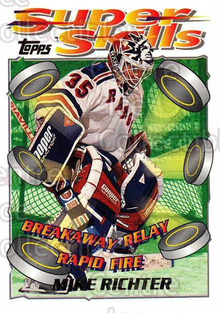 1995-96 Topps Super Skills #74 Mike Richter<br/>9 In Stock - $1.00 each - <a href=https://centericecollectibles.foxycart.com/cart?name=1995-96%20Topps%20Super%20Skills%20%2374%20Mike%20Richter...&quantity_max=9&price=$1.00&code=45060 class=foxycart> Buy it now! </a>