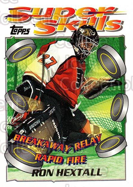 1995-96 Topps Super Skills #77 Ron Hextall<br/>9 In Stock - $1.00 each - <a href=https://centericecollectibles.foxycart.com/cart?name=1995-96%20Topps%20Super%20Skills%20%2377%20Ron%20Hextall...&quantity_max=9&price=$1.00&code=45062 class=foxycart> Buy it now! </a>