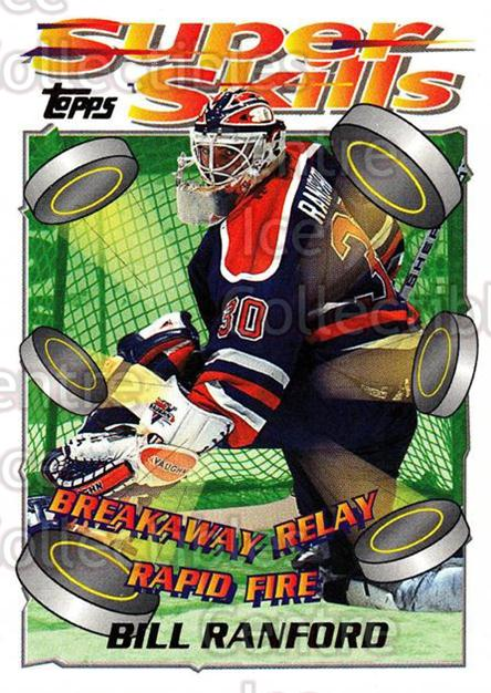 1995-96 Topps Super Skills #86 Bill Ranford<br/>10 In Stock - $1.00 each - <a href=https://centericecollectibles.foxycart.com/cart?name=1995-96%20Topps%20Super%20Skills%20%2386%20Bill%20Ranford...&quantity_max=10&price=$1.00&code=45068 class=foxycart> Buy it now! </a>