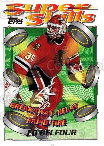 1995-96 Topps Super Skills #90 Ed Belfour<br/>7 In Stock - $1.00 each - <a href=https://centericecollectibles.foxycart.com/cart?name=1995-96%20Topps%20Super%20Skills%20%2390%20Ed%20Belfour...&quantity_max=7&price=$1.00&code=45073 class=foxycart> Buy it now! </a>