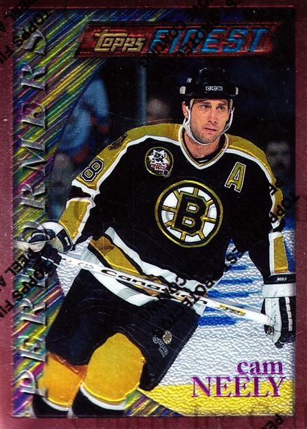 1995-96 Finest #9 Cam Neely<br/>4 In Stock - $1.00 each - <a href=https://centericecollectibles.foxycart.com/cart?name=1995-96%20Finest%20%239%20Cam%20Neely...&quantity_max=4&price=$1.00&code=45089 class=foxycart> Buy it now! </a>