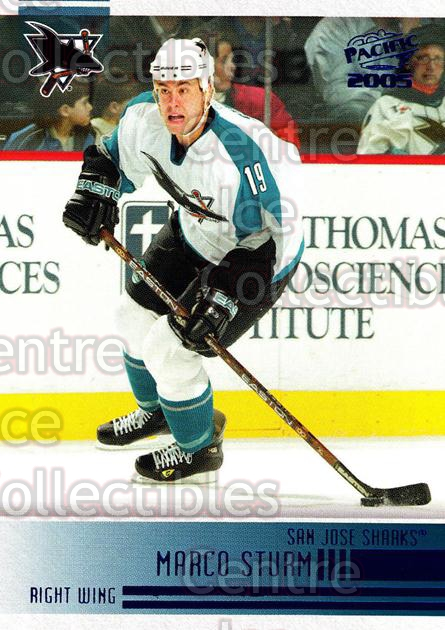2004-05 Pacific Blue #233 Marco Sturm<br/>3 In Stock - $3.00 each - <a href=https://centericecollectibles.foxycart.com/cart?name=2004-05%20Pacific%20Blue%20%23233%20Marco%20Sturm...&quantity_max=3&price=$3.00&code=452183 class=foxycart> Buy it now! </a>