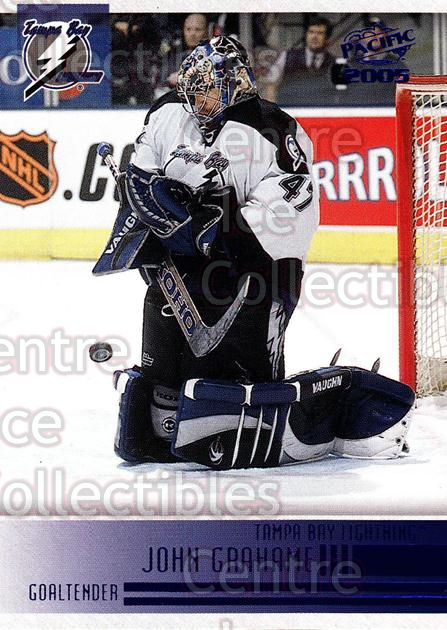 2004-05 Pacific Blue #236 John Grahame<br/>2 In Stock - $3.00 each - <a href=https://centericecollectibles.foxycart.com/cart?name=2004-05%20Pacific%20Blue%20%23236%20John%20Grahame...&quantity_max=2&price=$3.00&code=452186 class=foxycart> Buy it now! </a>