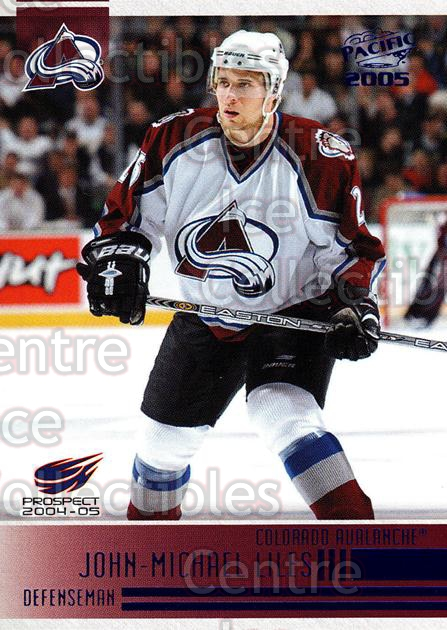 2004-05 Pacific Blue #277 John-Michael Liles<br/>2 In Stock - $3.00 each - <a href=https://centericecollectibles.foxycart.com/cart?name=2004-05%20Pacific%20Blue%20%23277%20John-Michael%20Li...&quantity_max=2&price=$3.00&code=452227 class=foxycart> Buy it now! </a>