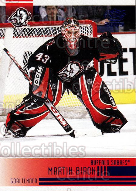 2004-05 Pacific Blue #29 Martin Biron<br/>1 In Stock - $3.00 each - <a href=https://centericecollectibles.foxycart.com/cart?name=2004-05%20Pacific%20Blue%20%2329%20Martin%20Biron...&quantity_max=1&price=$3.00&code=452237 class=foxycart> Buy it now! </a>