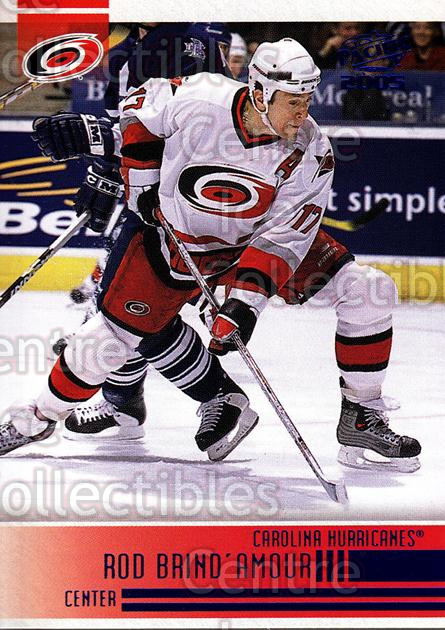 2004-05 Pacific Blue #46 Rod Brind'Amour<br/>3 In Stock - $3.00 each - <a href=https://centericecollectibles.foxycart.com/cart?name=2004-05%20Pacific%20Blue%20%2346%20Rod%20Brind'Amour...&quantity_max=3&price=$3.00&code=452262 class=foxycart> Buy it now! </a>