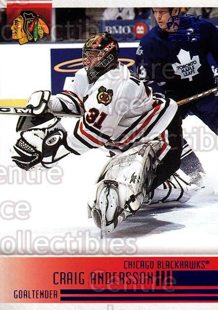 2004-05 Pacific Blue #55 Craig Anderson<br/>1 In Stock - $3.00 each - <a href=https://centericecollectibles.foxycart.com/cart?name=2004-05%20Pacific%20Blue%20%2355%20Craig%20Anderson...&quantity_max=1&price=$3.00&code=452272 class=foxycart> Buy it now! </a>