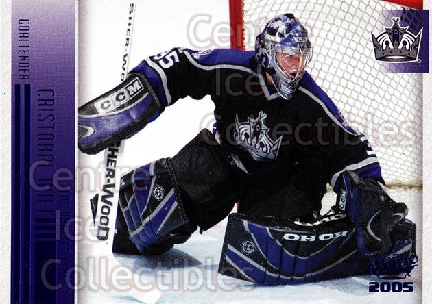 2004-05 Pacific Blue #122 Cristobal Huet<br/>2 In Stock - $3.00 each - <a href=https://centericecollectibles.foxycart.com/cart?name=2004-05%20Pacific%20Blue%20%23122%20Cristobal%20Huet...&quantity_max=2&price=$3.00&code=452321 class=foxycart> Buy it now! </a>