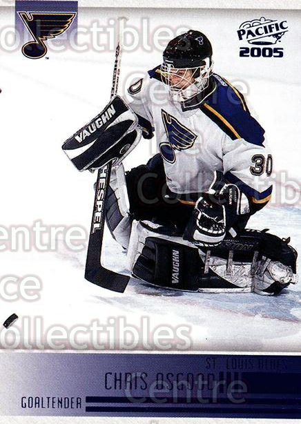 2004-05 Pacific Blue #221 Chris Osgood<br/>2 In Stock - $3.00 each - <a href=https://centericecollectibles.foxycart.com/cart?name=2004-05%20Pacific%20Blue%20%23221%20Chris%20Osgood...&quantity_max=2&price=$3.00&code=452431 class=foxycart> Buy it now! </a>