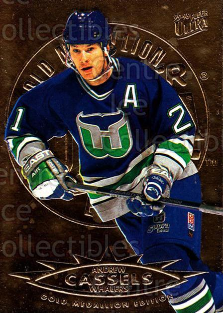 1995-96 Ultra Gold #66 Andrew Cassels<br/>4 In Stock - $2.00 each - <a href=https://centericecollectibles.foxycart.com/cart?name=1995-96%20Ultra%20Gold%20%2366%20Andrew%20Cassels...&quantity_max=4&price=$2.00&code=45243 class=foxycart> Buy it now! </a>