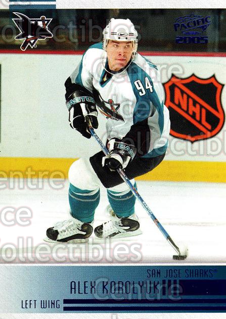 2004-05 Pacific Blue #229 Alexander Korolyuk<br/>3 In Stock - $3.00 each - <a href=https://centericecollectibles.foxycart.com/cart?name=2004-05%20Pacific%20Blue%20%23229%20Alexander%20Korol...&quantity_max=3&price=$3.00&code=452478 class=foxycart> Buy it now! </a>