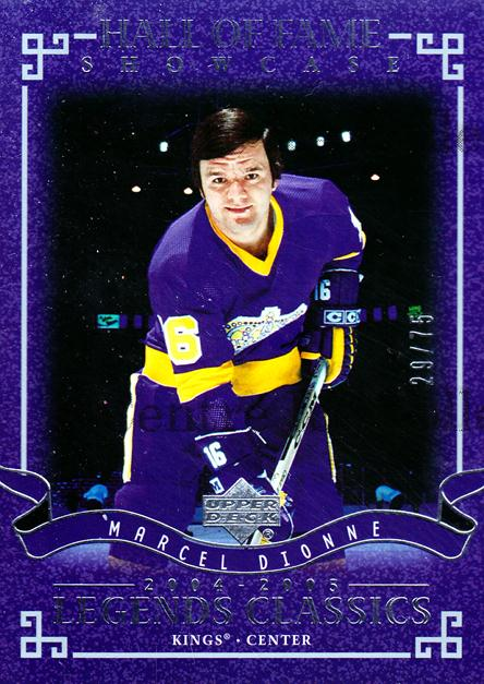 2004-05 UD Legends Classics Silver #100 Marcel Dionne<br/>1 In Stock - $5.00 each - <a href=https://centericecollectibles.foxycart.com/cart?name=2004-05%20UD%20Legends%20Classics%20Silver%20%23100%20Marcel%20Dionne...&quantity_max=1&price=$5.00&code=452725 class=foxycart> Buy it now! </a>