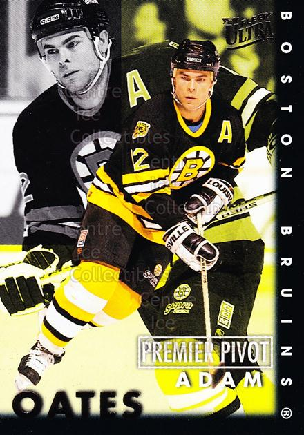 1995-96 Ultra Premier Pivots #6 Adam Oates<br/>15 In Stock - $2.00 each - <a href=https://centericecollectibles.foxycart.com/cart?name=1995-96%20Ultra%20Premier%20Pivots%20%236%20Adam%20Oates...&quantity_max=15&price=$2.00&code=45298 class=foxycart> Buy it now! </a>