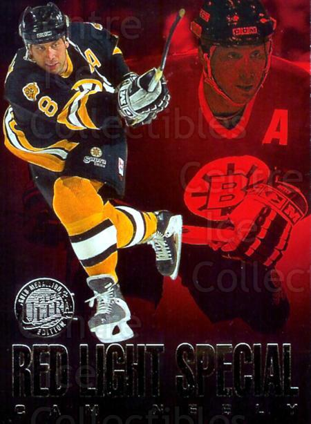 1995-96 Ultra Red Light Specials Gold Medallion #7 Cam Neely<br/>3 In Stock - $3.00 each - <a href=https://centericecollectibles.foxycart.com/cart?name=1995-96%20Ultra%20Red%20Light%20Specials%20Gold%20Medallion%20%237%20Cam%20Neely...&quantity_max=3&price=$3.00&code=45303 class=foxycart> Buy it now! </a>