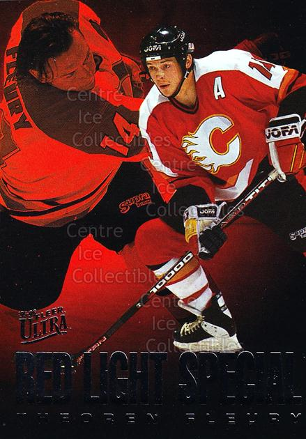 1995-96 Ultra Red Light Specials #2 Theo Fleury<br/>22 In Stock - $2.00 each - <a href=https://centericecollectibles.foxycart.com/cart?name=1995-96%20Ultra%20Red%20Light%20Specials%20%232%20Theo%20Fleury...&quantity_max=22&price=$2.00&code=45308 class=foxycart> Buy it now! </a>